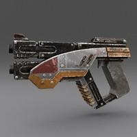 gun pbr details obj