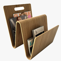 magazine rack 3d 3ds