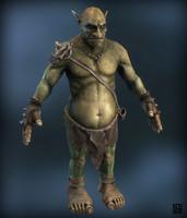 fantasy goblin 3d model