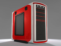 3d model computer case