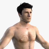3d character mmorpg body model