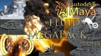 3d fluids fx megapack explosion model
