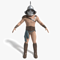 3ds max ancient gladiator