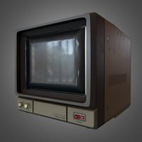 3d model cctv monitor