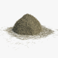 3d haystack hay model