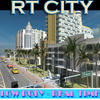 city street miami 3ds