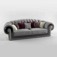 3d turri orion sofa model