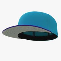 brooklyn baseball cap 3d 3ds