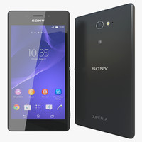 3d model realistic sony xperia m2