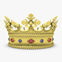 3ds realistic crown 4