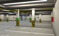 Underground Parking Garage  01