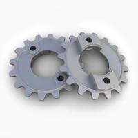 3d gear 21 model