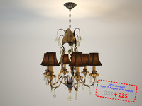 empyrean chandelier savoy 3d model