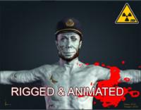 zombie male fbx
