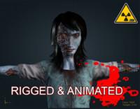 3dsmax zombie male