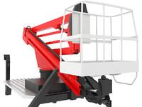3d lifting crane boom model