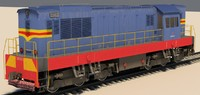max shunter diesel locomotive chme3