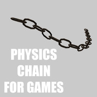 3d physics chain