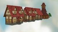 3d max pack fantasy houses