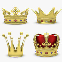 3d max crown set