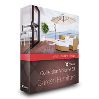max cgaxis volume 51 garden furniture