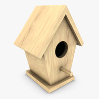 3ds bird house