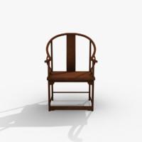 3dsmax oriental chair