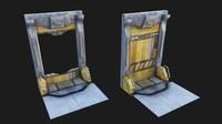 scifi door 001