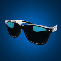 3d max rayban wayfarer sunglasses
