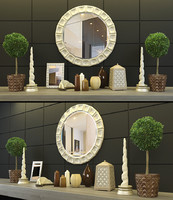 3d decoration set 2 model
