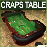 3d model casino chips felt