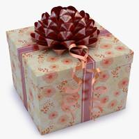 gift box 05 3d max