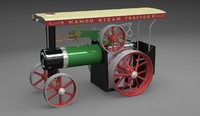 maya steam tractor mamod