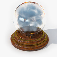 crystal ball 3D models