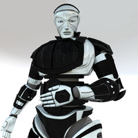 android man 3d model
