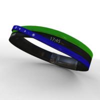 3d model navigation bracelet