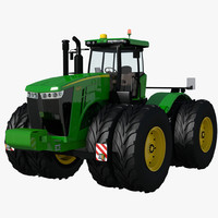 3d model of 9560 tractor