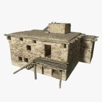 house cityscape 3d model
