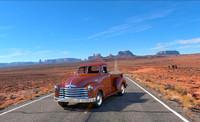 3d model 1951 chevrolet truck