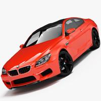 3d model bmw m6 2013