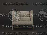armchair dae 3d max