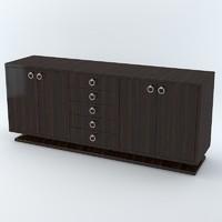 3d model davidson elgin cabinet