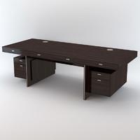 3d model davidson winston desk