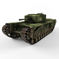 tank churchill 3d 3ds