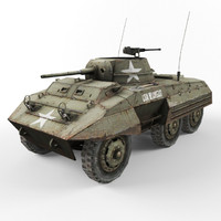 m8 vehicle 3d model