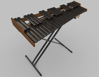3d xylophone musical instrument