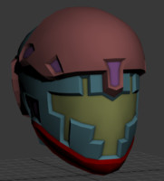 3d space helmet model