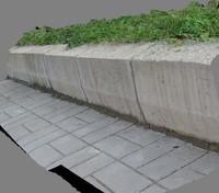 3d curb 1 model