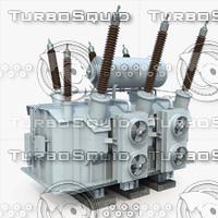 power transformer 3d max