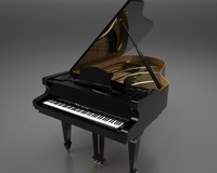 piano classical 3ds